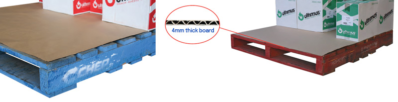 Pallet Protector Sheets and Corrugated Pallet Pads